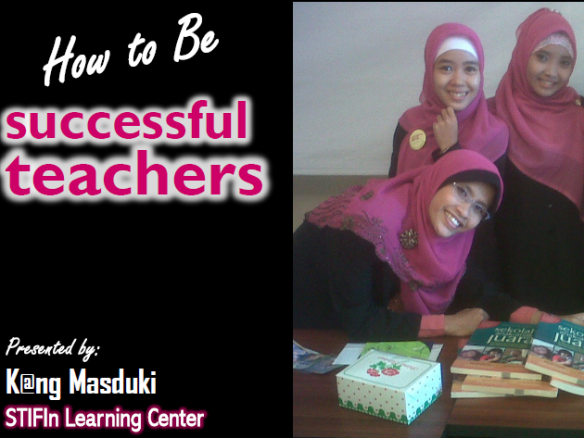 successful teachers megamendung