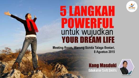 cover 5 Cara Powerful untuk Wujudkan Your Dream Life