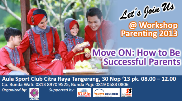 iklan workshop parenting plus logo