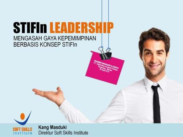 Cover STIFIn Leadership