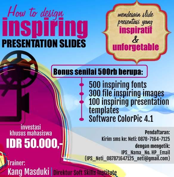 Iklan Inspiring Presentation Slides