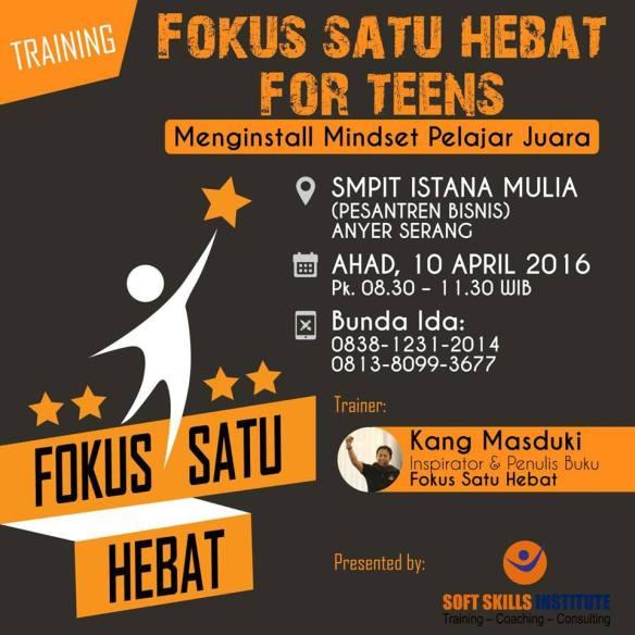 Fokus Satu Hebat for Teens