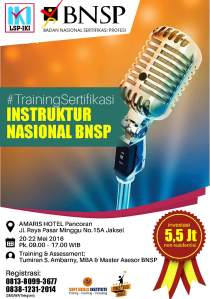 iklan Sertifikasi Instruktur BNSP1