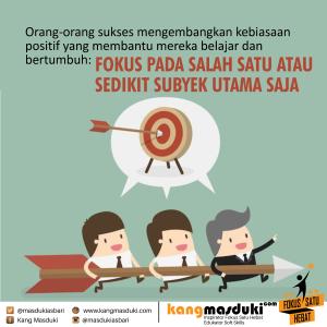 Kang Masduki Fokus Satu Hebat 60